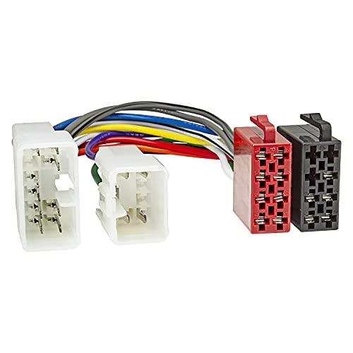 tomzz Audio 7055-000 - Cavo adattatore radio adatto per Daihatsu, Subaru, Toyota a 16 poli ISO