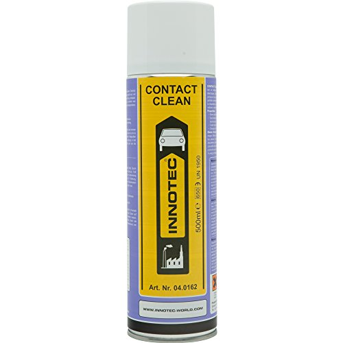 Innotec Contact Clean Reiniger Kontaktspray Elektrospray Kontaktreiniger Elektroreiniger, 500ml Spraydose