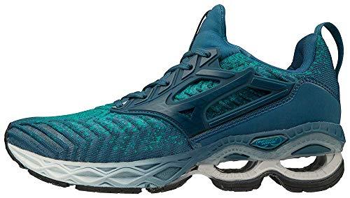 Mizuno Women's Creation WAVEKNIT 2 Running Shoe, Lapis-Moroccan Blue, 9