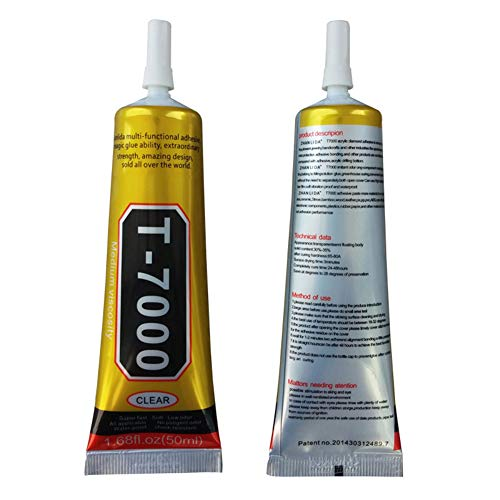 Guajave T7000/T8000 Kleber, Epoxidharz, klar, selbstklebend, Nadel-Typ, Handy-Bildschirm-Reparaturwerkzeug