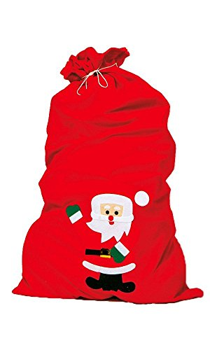 Iden kerstzak, rood