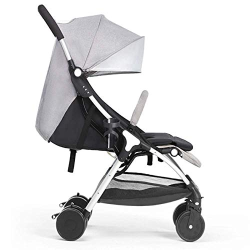 Learn More About ETERLY 4 Wheel Stroller Reclining One Hand Fold with Shock Absorbers Compact from B...