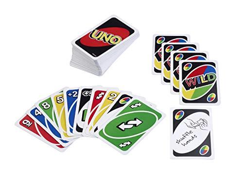 Mattel Games MTL-TOY05 UNO Kartenspiel, transparent, 200 g