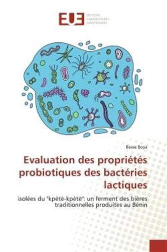 Evaluation des propriétés probiotiques des bactéries lactiques: isolées du