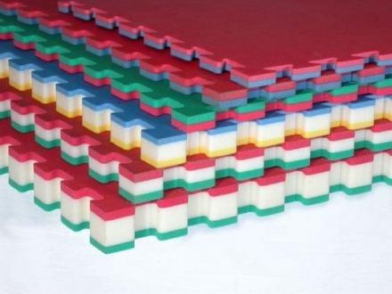 GAMMA SPORT tapijt Karate' CM 100X100X2 POREX DENSITEIT 115KG/MQ R/B