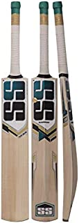 SS Kashmir Willow Leather Ball Cricket Bat, Exclusive Cricket Bat for Adult Full Size with Full Protection Cover (Super Power, Cannon, Impact) by Yogi Sports …