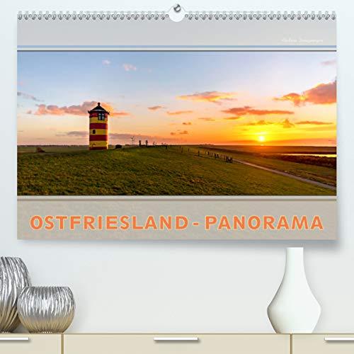 Ostfriesland-Panorama (Premium, hochwertiger DIN A2 Wandkalender 2021, Kunstdruck in Hochglanz)