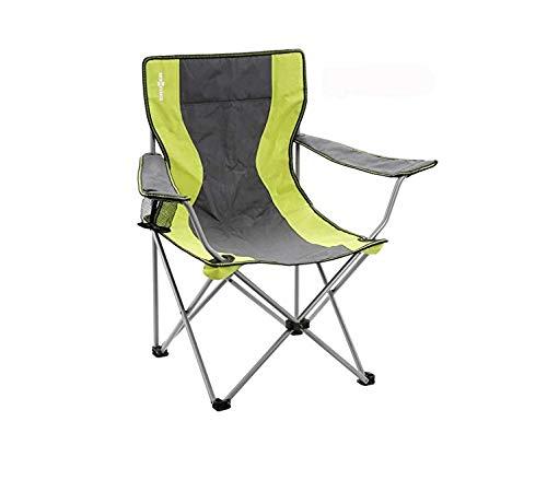 TriGold Pliable Chaise De Camping avec Removable Repose-Pieds,R/églable Fauteuil De Camping,Ext/érieur Multifonction Portable Chaise Longue