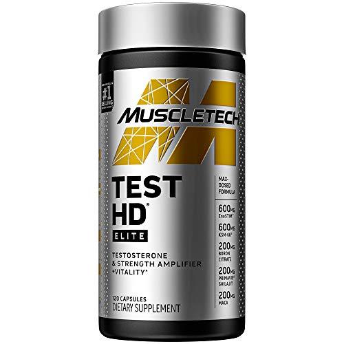 Testosterone Booster for Men   MuscleTech Test HD Elite Test...