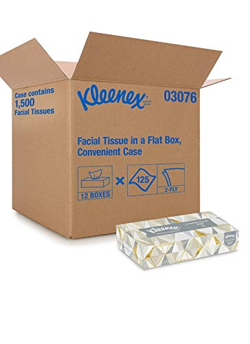 Kleenex 2-ply Facial Tissue 12boxes of 125sheets