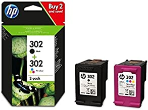 HP 302 - Combo Negro y Tricolor X4D37AE Compatible con impresoras Europeas