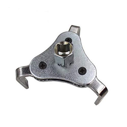 TrifyCore Llaves de Filtro de Aceite Universal Oil System Tools 3 Jaw Adjustable Wrenches Remover Herramienta de eliminación de Filtro de Aceite Durable y práctico