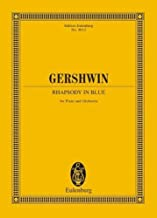 Rhapsody in Blue for Piano and Orchestra. Study Score by Gershwin, George (1988) Paperback