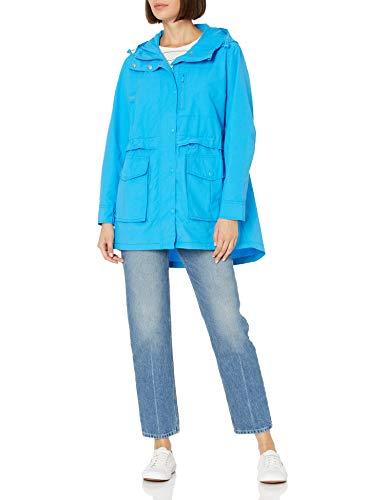 J.Crew Mercantile Women's Perfect Rain Jacket, Watercolor Sky, M