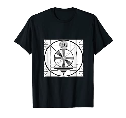 Indian head test pattern vintage American television T-Shirt
