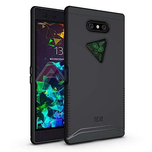 TUDIA Merge, Dual-Layer-Hülle für Razer Phone 2 [2018] (Rose Gold)