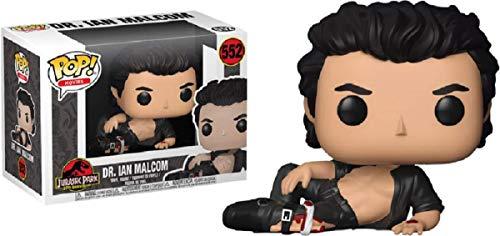 FunKo Jurassic Park - Dr. Ian Malcolm (senza maglietta) Pop! vinile