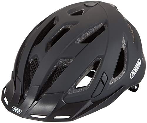 ABUS Unisex-Erwachsene URBAN-I 3.0 Fahrradhelm, Schwarz (velvet black X), XL (60-63)