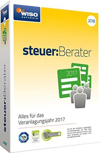 WISO steuer:Berater 2018 (für Steuerjahr 2017) (WISO Steuer-Software)