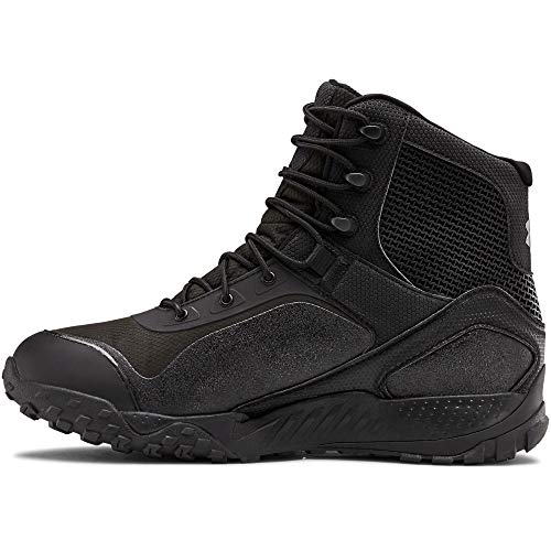 Under Armour Men's Valsetz RTS 1.5 Waterproof Military and Tactical Boot, Black (001)/Black, 10.5