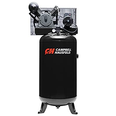 Air Compressor, 80 Gallon Vertical Tank, Two-Stage, 14CFM, 5.5 HP, 1 Phase (Campbell Hausfeld CE3000) by Campbell Hausfeld