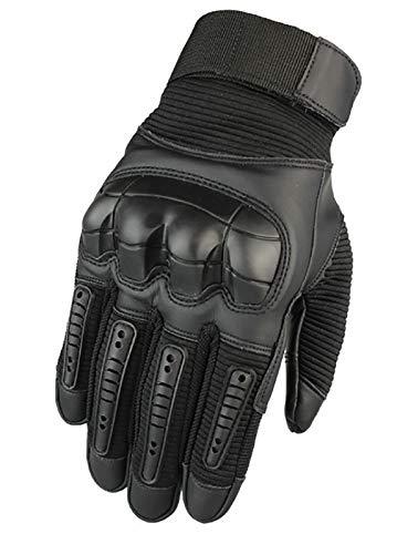 Adaee Gorilla Gloves Ultra strapazierfähige Outdoor-Handschuhe, flexibler Schutz (black, S)