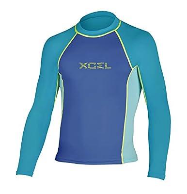 XCEL Girls EWA UV Long Sleeve Wetsuit