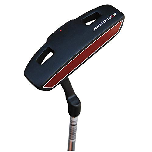 Unbekannt Golf Übung Chipper, Herren Golfschläger Damen Golf Übungsschläger for Anfänger Langlebig Rechtshändig Linkshändig Gebraucht Golf Putter (Farbe : C2, Größe : 34.5'')