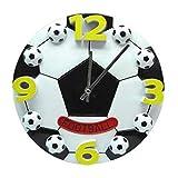 DAIKAI NOCM Kreative fußball Wohnzimmer das Schlafzimmer wanduhr Mode Moderne Uhren Dekoration Uhr stumm wanduhr GIF