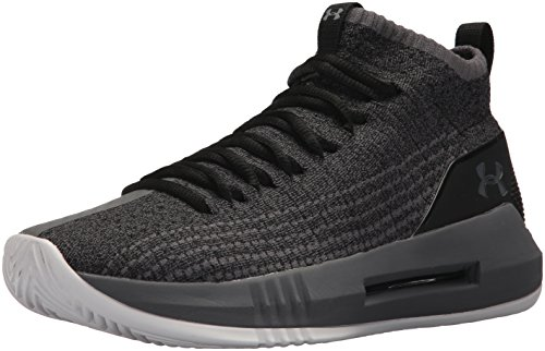 Under Armour Herren UA Heat Seeker Basketballschuhe, Schwarz (Black 004), 48.5 EU