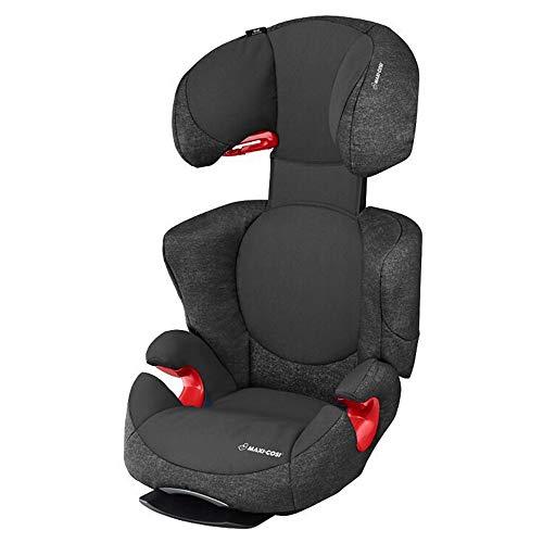 Maxi-Cosi Rodi AirProtect Kindersitz, Autositzerhöhung mit hoher Rücklehne, 3,5 - 12 Jahre, 15 - 36 kg, Nomad Black (schwarz)