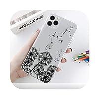 Csddg iPhone 11ケース電話ケース用トーテムアニマルキャットタイガーキリンソフトTPU iPhone 11プロマックス7 8 8 8 6 Sプラス5S SE 2020 XXS MAX-W3162-For iphone 7plus