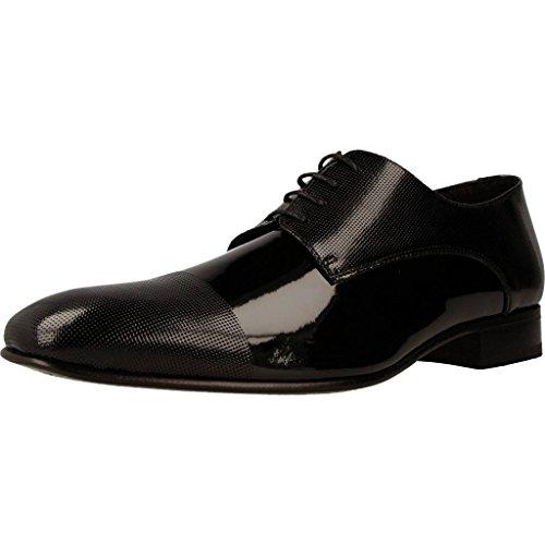 Sergio Serrano Zapatos Cordones 2352 Hombre Negro