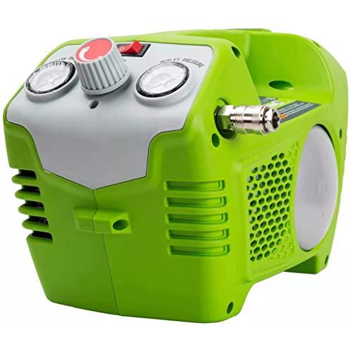 Greenworks Tools 4100802 Accu-compressor, 40 V, 2 l, 8 bar (zonder accu en oplader)