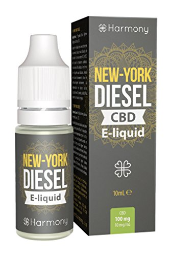 LIQUIDO CBD ORIGINALS HARMONY NEW YORK DIESEL 10ml -30mg,100mg,300mg,6