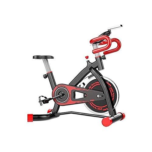 MGIZLJJ Giro de la Bici, Interior Ciclos de Bicicleta de Ejercicios Estudio de Ejercicio de Entrenamiento Máquinas cardiovasculares Actividades de Interior, Asiento Ajustable Manillar