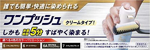 サロンドプロワンプッシュメンズカラー(白髪用)7<ナチュラルブラック>