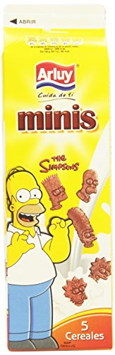 Galletas Arluy Minis The Simpsons 5 Cereales 275gr