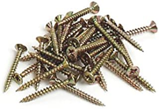 Brueder Mannesmann S61808 Chipboard Screws in Plastic Bag