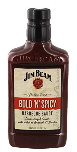 Jim Beam Bold N´Spicy BBQ Sauce, 510g