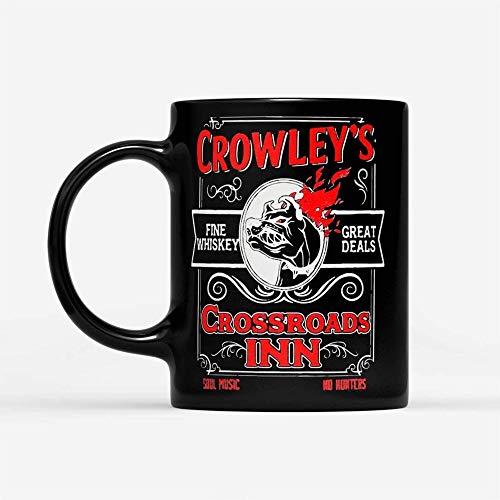 Taza té cerámica uso prolongado Bulldogs Crowley 's Fine Whisky Grandes ofertas Crossroads Inn Soul Music No s Taza bebida café Regalo