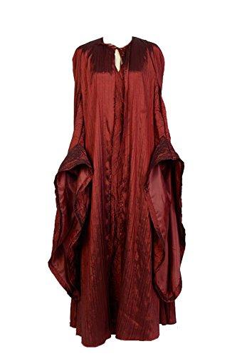 Jeylu Vestido de mujer de Juego de Tronos Melisandre traje de cosplay traje de cosplay