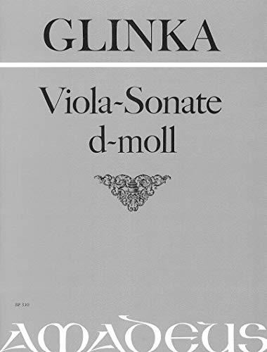 GLINKA - Sonata en Re menor para Viola y Piano (Michel)