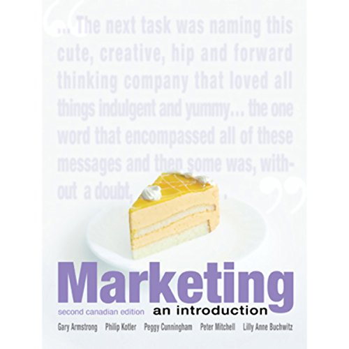 VangoNotes for Marketing, Second Canadian Edition audiobook cover art