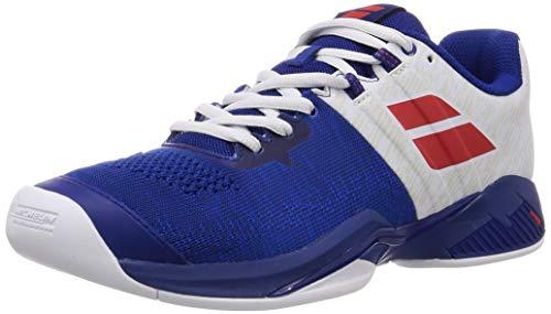 BABOLAT Propulse Blast Indoor M, Zapatillas de Tenis para Hombre, Imperial Blue/White, 46 EU