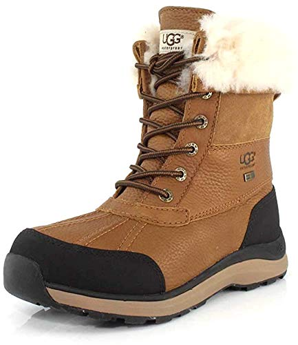 UGG Women's Adirondack Boot III Boot, Chestnut, 8.5