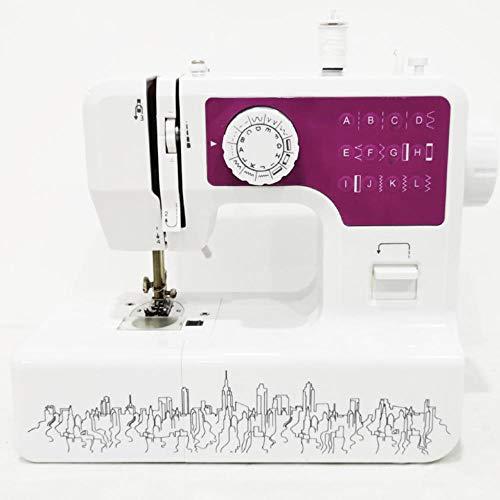 Serrale Tradition Máquina de Coser Máquina de Coser Portatil y Versátil, Fácil de Usar y Práctica costura Automática Máquina de coser mecánica, Display multifunción con Luz de LED