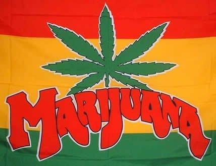 1000 Flags Marijuana Chanvre 3 'x2' Drapeau