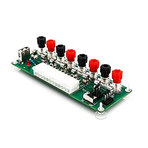 Adaptador de módulo ATX de 20/24 pines, conector de placa de terminal de transferencia de energía, modelo de escritorio, placa de PC, conector de enchufe de CC para computadora