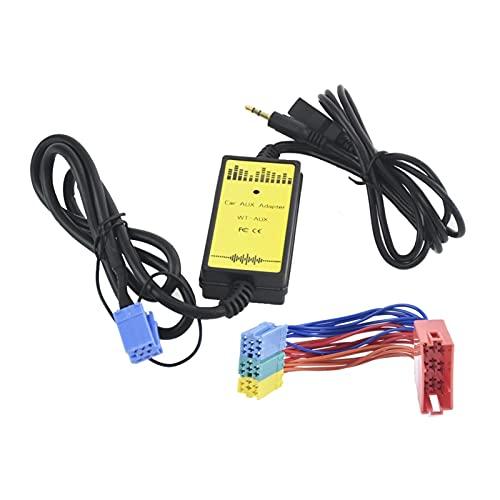 XIAO YANG Coche AUX USB SD Mini 8P Connect CD CAMBIERTE FIT para Seat AHAMBRA Ibiza Arosa Ajuste para Audi 8PIN A2 A4 S4 CD Adaptador MP3 Interfaz de Audio (Color Name : Zwart)